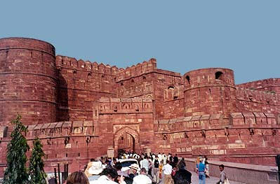 Red Fort - Historical Munuments Agra