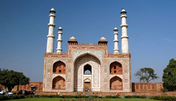 Sikandra - Tomb of Akbar the Great