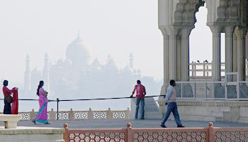 Red Fort Agra is a second most important historical monument in Agra, this is also a must see attraction in Agra city. Taj Mahal view from Agra Fort is something i like very much.