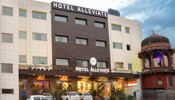 Alleviate Hotel Agra, Only 2 Km distance from Taj Mahal in Agra | Biz Agra